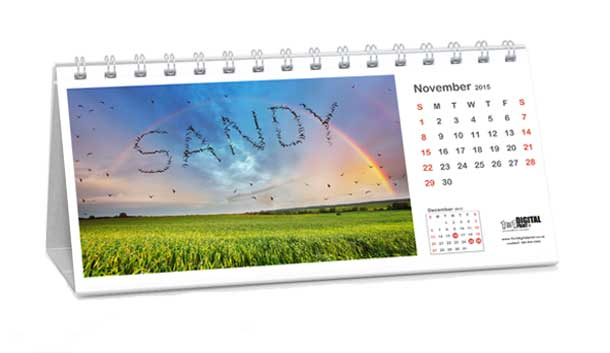 personalised calendars unique calendar gifts for customers