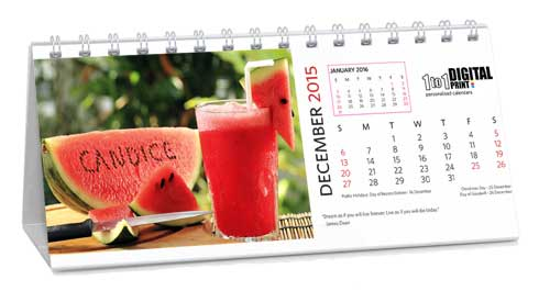 personalised calendar pricing information